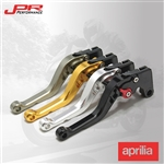 JPR Performance specializes in high-quality motorcycle clutch and brake for Aprilia. Adjustable reach, better comfort, effortless 6-position adjusters that slide over ball bearings and snap securely into place.